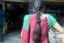 Indian Long Hair Braid 2