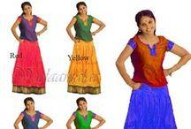 Pavadai Chattai [Skirt & Blouse]