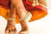 Indian Bridal Feet