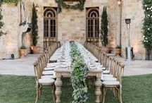 Mariage // Décor réception / Décoration de salle de réception pour mariage.