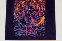 Grabados Fabiola Nuñez / Aquí encontraras distintos tipos de grabados, Serigrafía, Punta Seca, Agua fuerte y principalmente Xilografía, hechos 100% a mano con diseños creativos y también hechos a pedido. https://www.facebook.com/pages/Grabados-Fabiola-Nu%C3%B1ez/1463317013968281