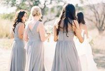 Mariage // Demoiselles d'honneurs / Bridesmaids