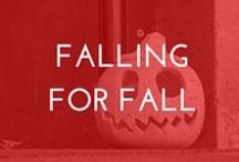 Falling for Fall / We're fall-ing for this season. Best autumn inspired recipes and DIY
