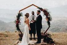 Mariage // Background / Inspiration d'arrière plan pour cérémonie de mariage.
