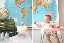 World Traveler First Birthday