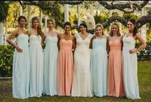 Stylish Wedding Parties / Some great ideas for the fashionista brides!  Find more ideas at www.wedding.com / by Wedding.com