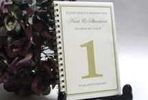 Guestbook Ideas / by Wedding.com