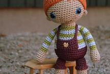 crochet/knitted toys / by Magda Skalska-Zep