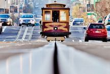 San Francisco ~ Where Little Cable Cars Climb Halfway to the Stars / Beautiful San Francisco and the Bay Area / by Martha Charchenko