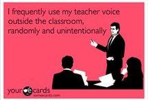 Teacher Words / by Kelly Schneider