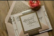 Invitations and Save the Dates / by Wedding.com