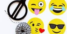 "Emoji Party Ideas / fun ideas for an Emoji Birthday Party or Poo Emoji ""Diaper Bash"" Baby Shower"