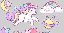 Unicorns / Unicorns, Magic, Rainbows