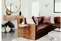 leather sofas / Black, white, brown or grey leather sofas are perfect for the contemporary or traditional home.