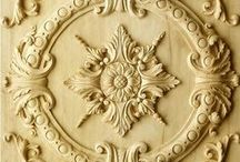 Panels / Wooden hand carved panels