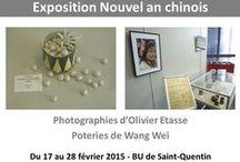 Expositions BU Saint-Quentin-en-Yvelines