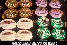 Cupcakes and food decorating