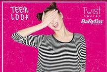 Teen Look / Un look giovane ideale sia per il giorno che per la sera. Con Twist Secret realizzi il look perfetto in ogni occasione!