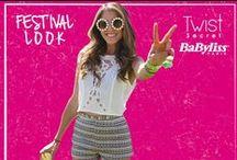 Festival Look / E tu con che look ti presenti per andare ad un concerto o ad una festa? Segui la moda del momento con Twist Secret il segreto per la tua bellezza!