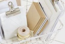 Craft Storage / Storage solutions for the home, in particular the craft room! Storage ideas, storage inspiration, Shelves, boxes, open shelving, peg board, craft storage, cupboards, art supply storage, planner caddy, planner storage, washi tape storage, study, home office, studio storage, bullet journaling storage.