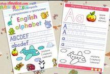 Английский язык для детей / Английский язык для детей, английский алфавит для детей, скачать, распечатать бесплатно, обучающие и развивающие пособия для изучения английского языка, карточки, картинки на английском языке, прописи на английском языке, раскраски, английский язык для детей 2,3,4,5,6,7 лет, для школьников 1,2,3,4,5 класса