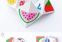 Оригами из бумаги для детей / Оригами из бумаги для детей, оригами схемы для детей скачать, оригами гадалка из бумаги