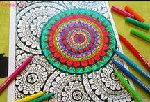 Арт-терапия книга раскраска / The Creative Therapy Colouring Book / Арт-терапия книга раскраска, арт-терапия раскраски скачать бесплатно, раскраски антистресс для взрослых