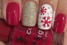 Winter nailart
