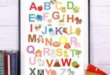 Постер, плакат на стену в детскую комнату / Обучающие постеры для детей, плакаты для детской комнаты, обучающие плакаты для детского сада, школьного класса