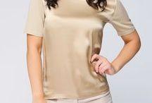 Шелк + кашемир / Одежда из шелка с добавлением нити кашемира отличается особой нежностью, носить такую ткань на голое тело необычайно приятно.