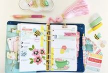 Planners + Stationery / Plan your beautiful life. Planners, note books, journals and stationery. Planner decorating ideas. Planner stickers and embellishments. Greeting cards, letter writing and paper goods. Happy mail inspiration. Erin Condren, Happy Planner, Filofax.