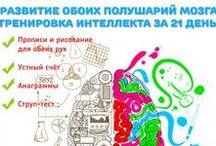 Развитие интеллекта у детей / Развитие интеллекта и памяти, развитие памяти, система развития интеллекта, развитие интеллекта у детей, скачать развитие интеллекта