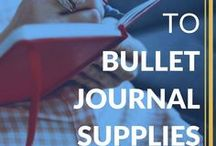 Bullet Journal / A board for the system that revolutionized my life | bullet journal, bullet journals, bujo, bullet journal ideas, bullet journal pages, bullet journal spreads, bullet journal weekly spreads, organized, productive, journal, planner, to do, to do list, productivity, organization