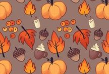 Autumn sticker planner