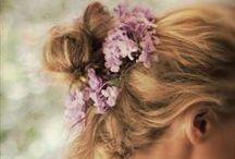 Delightful Locks ༻ / Inspiring Hair Styles: Delightful up do's, Long Hair, Curls etc. / by Brita James