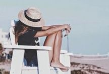 summertime / summer, sun & sunshine, dreamy days at the beach, holidays & traveling