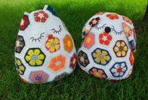 flor africana crochet