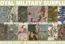 Military Camouflage Patterns / The Military Camouflage Pattern Section let you compare camouflages. Each Camouflage Pattern presents different specifications based on Colors, Pattern Shapes, Transitional Shading, Layout Design and Features required by the projected environment of deployment. Those Camouflages Patterns are currently in use by Army/Military/Special Forces of USA, Canada, United Kingdom, Germany, France, Russia, Italy and other International Armies, Military Organizations, Special Forces and Security Forces.