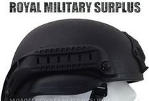 Military & Tactical Helmets / The HELMET & HELMET COVERS Section presents Military Helmets, Historical Replicas and Helmet Covers used by Army/Military/Special Forces of USA, Canada, United Kingdom, Germany, France, Russia, Italy, NATO, International Military & Security Forces. Visit our Website at www.royalmilitarysurplus.com
