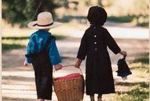 Amish ~ Mennonite Life / Plain people around whom I live.  / by JoanS