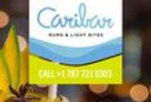 Caribar Rums & Light Bites / The best crafted cocktail bar in San Juan.