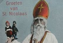 Ansichtkaarten / Collectie uit mijn verzameling en gepinde Sinterklaas - St. Nicolaas ansichtkaarten jr. 20 tot heden.