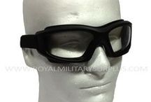 Military Glasses & Goggles / The GOGGLES & GLASSES Section presents Military Goggles, Tactical Glasses and Shooting Protection used by Army/Military/Special Forces of USA, Canada, United Kingdom, Germany, France, Russia, Italy, NATO, International Military & Security Forces. Visit our Website at www.royalmilitarysurplus.com
