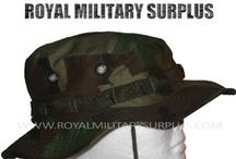 Boonie Hats / The BOONIE HATS Section presents Military Boonie Hats in many Styles, Designs and Military Camouflage Patterns used by Army/Military/Special Forces of USA, Canada, United Kingdom, Germany, France, Russia, Italy, NATO, International Military & Security Forces. Visit our Website at www.royalmilitarysurplus.com