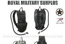 Military Canteen & Hydration System /  The WATER CANTEEN & HYDRATION SYSTEM Section presents Classic GI One Quart, Hydration Water System and Advanced Tactical Distribution Systems used by Army/Military/Special Forces of USA, Canada, United Kingdom, Germany, France, Russia, Italy, NATO, International Military & Security Forces. Visit our Website at www.royalmilitarysurplus.com