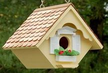Birdhouse / Welcome to the Neighborhood! Bird Houses for the Garden. | Group board opportunity | Make it better by following each other!