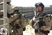 Military Uniforms / Military Kits - Action Shots / The MILITARY & TACTICAL KITS Section presents Complete BDU, Camouflage Kits and Military Tactical Layouts used by Army/Military/Special Forces around the World (USA, Canada, United Kingdom, Germany, France, Russia, Italy, NATO, International Military & Security Forces). Use this Military Kits Section to start your own personalized Setup or choose within our large selection of Military & Tactical Complete Kits. Visit our Website at www.royalmilitarysurplus.com
