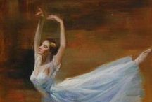 Ballet Paintings / by xdragon