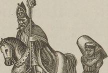Sinterklaas kranten advertenties / Kranten 'Sinterklaas' advertenties / illustraties door de jaren heen