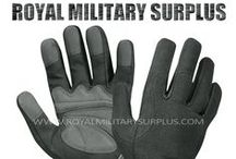 Military Gloves & Mittens / The GLOVES & MITTENS Section presents Tactical Gloves, Commando Gloves, Mechanics Gloves, Padded Gloves and Hand-Protection Accessories used by Army/Military/Special Forces of USA, Canada, United Kingdom, Germany, France, Russia, Italy, NATO, International Military & Security Forces. Visit our Website at www.royalmilitarysurplus.com